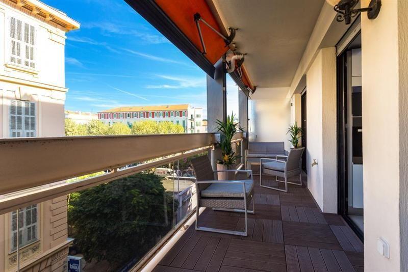 Двухкомнатная квартира на высоком этаже в Ницце